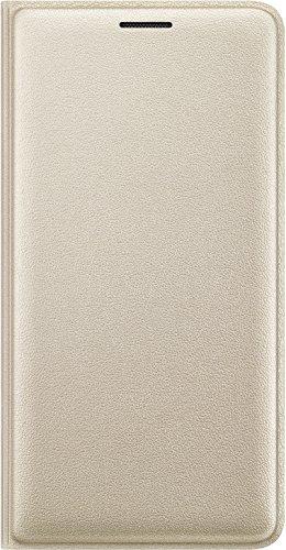 Samsung EF-WJ320PFEGWWSAMSUNG Custodia a Portafoglio per Samsung Galaxy J3, Oro
