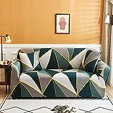 WXQY Fundas con patrón de Leopardo Funda de sofá elástica elástica Funda de sofá con protección para Mascotas Funda de sofá con Esquina en Forma de L Funda de sofá con Todo Incluido A11 2 plazas