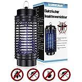 SEGMINISMART Elektrischer Insektenvernichter,Insektenkiller Moskito Killer mit UV-Licht,UV Insektenfalle Mückenlampe Intelligente Mückenvernichter Innen Außeneinsatz