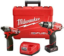Milwaukee Electric Tool 2597-22 M12 Drill/Driver, 1/2