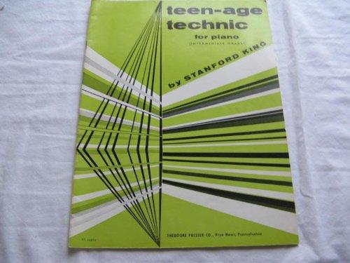 TEENAGE TECHNIC FOR PIANO STANFORD KING 1954 SHEET MUS SHEET MUSIC FOLDER 412