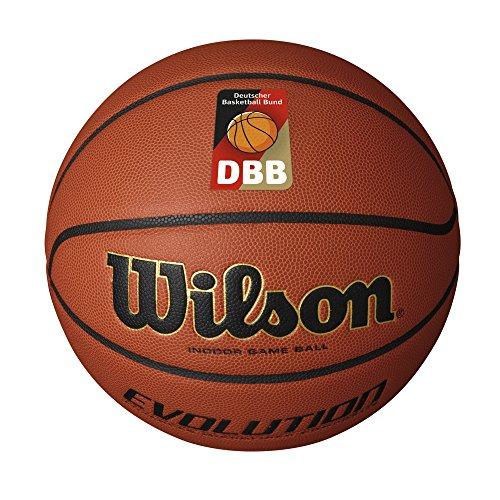 Wilson Pelota de baloncesto de interior, Competición, Pavimento deportivo, Tamaño 7, EVOLUTION,...