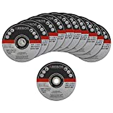 AREBOS 50 discos de corte flexibles   diámetro 180 x 1,8 mm   acero inoxidable   extrafinos   hierro   chapa   metal   acero   acero inoxidable