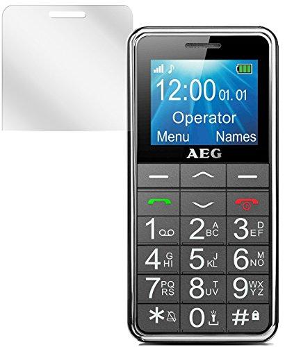 dipos I 6X Protector de Pantalla Compatible con AEG Voxtel M250 pelicula...