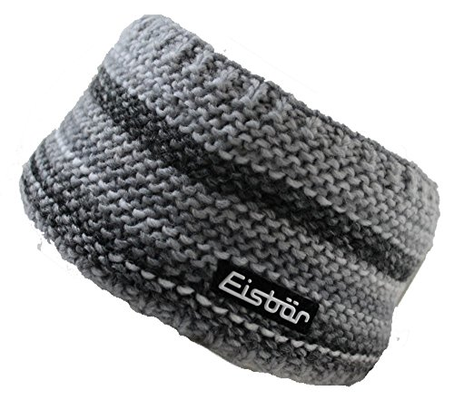 Eisbär Mütze Stirnband - Kunita (grau)