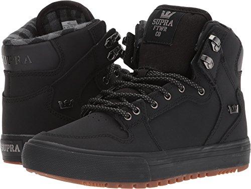 Supra Skytop Unisex Erwachsene Sneakers, Schwarz - Schwarz Black Dark Gum - Größe: 6 M US Niño Grande