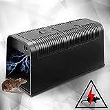 LILIJIA Elektrische Rattenfalle, 100% Kill Mice Catch Cage Wiederverwendbare Elektronische Mausefalle Für Die