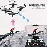 FPV WiFi Regolabile Telecamera Elicottero Giocattoli Telecomando RC Drone, Mini Drone con Telecamera...