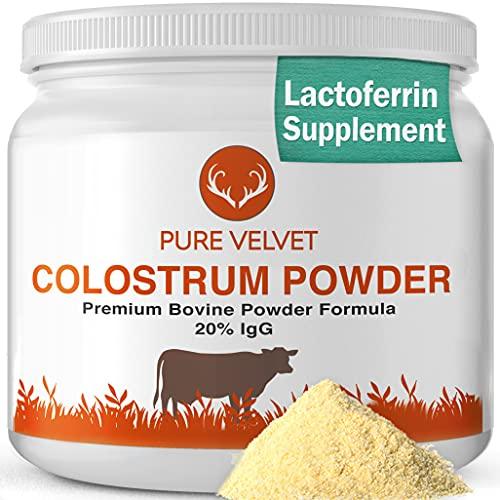 Colostrum Powder, Premium Bovine Colostrum Supplement, Colostrum...