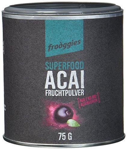 frooggies Fruchtpulver Acai, 75 g