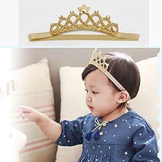 Children Girls Faux Fur Hair Hoop Crown headband Christmas Hair Accessory Gift
