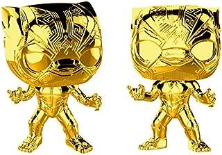 FUNKO POP! Marvel: Marvel Studio's 10th Anniversary - Black Panther (Chrome)