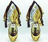 IDEA REGALO PASQUA 2021 2 Uova Ferrero ROCHER DARK CIOCCOLATO FONDENTE CON NOCCIOLE 175gr+50gr