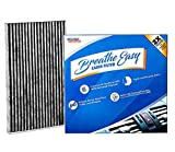 Spearhead Premium Breathe Easy Cabin Filter, Up to 25% Longer Life w/Activated...
