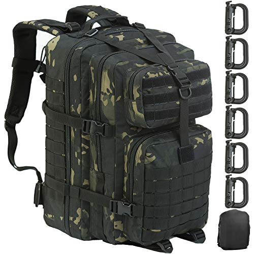 85 L Gray Black Safety Emergency Camp Gear Sac à Dos Survie Jour Sac Pack