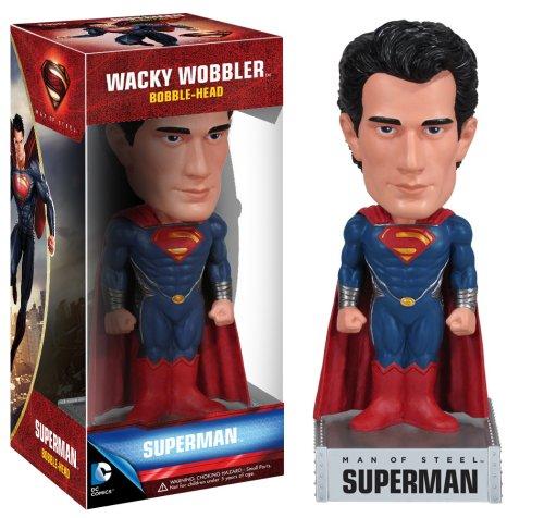 Funko - Figurine - Superman Man Of Steel - Bobblehead Superman - 0830395030944