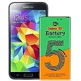 Galaxy S5 Akku, 2700 mAh Li-Ion-Ersatzbatterie für Samsung Galaxy S5 I9600, G900F, G900V (Verizon), G900T (T-Mobile), G900A (AT & T), G900P (Sprint) - 24 Monate Garantie