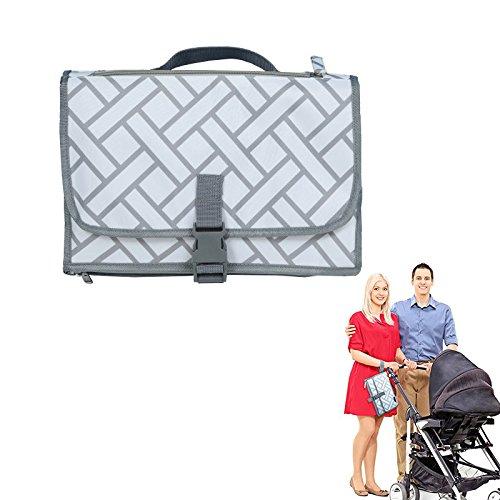 Crewell - Cambiador portátil para pañales de bebé, Funda