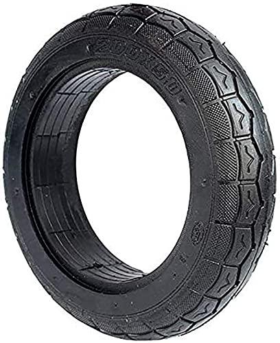 GJJSZ Neumáticos para Scooter eléctrico,neumáticos sólidos 200X50 de 8 Pulgadas engrosados,Resistentes al Desgaste y no inflables,neumáticos Antideslizantes para Scooter eléctrico
