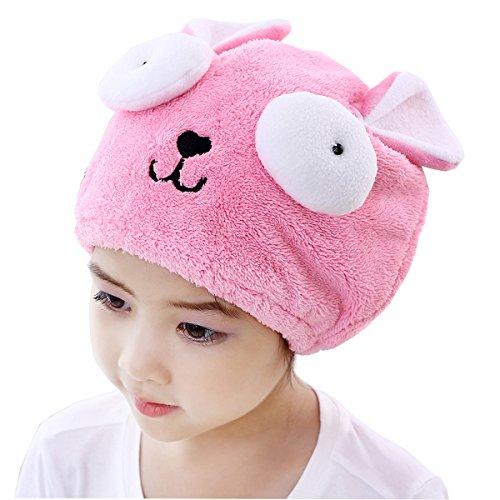 FakeFace Lustig Haartrockentuch Kinder Kopfhandtuch Polyester Mikrofaser Kopftuch Trockenhaube Haarturban Weiche Schnell Trocken Haar Handtuch