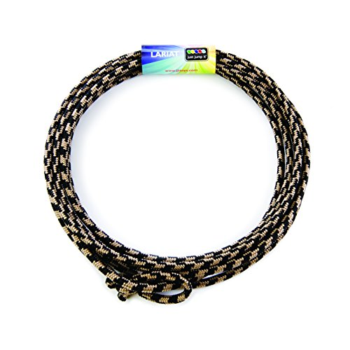 Check Out This Just Jump It Lil Lariat- Junior Lasso- pre-tied-20', Black & Tan