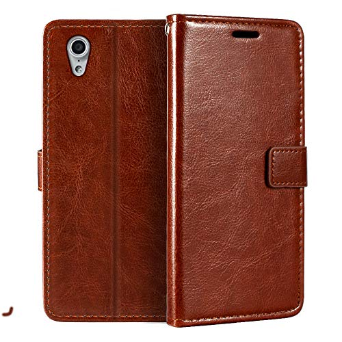 Lenovo Vibe X S960 Wallet Case, Premium PU Leather Magnetic Flip Case Cover with Card Holder and Kickstand for Lenovo Vibe X S960
