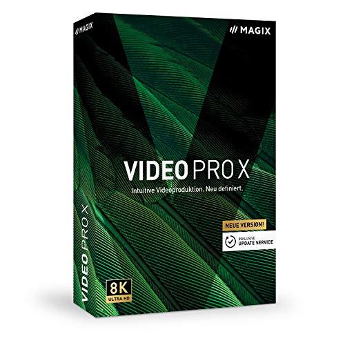 Video Pro X – Version 12 – Preisgekrönte Videoschnittsoftware für professionelle Videobearbeitung|Professional|multiple|limitless|PC|Disc|Disc