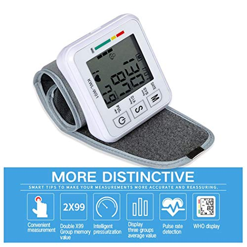 Purchase GoodKE Automatic Smart Wrist Electronic Blood Pressure Monitor Blood Pressure Monitors