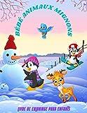 BÉBÉ ANIMAUX MIGNONS - Livre De Coloriage Pour Enfants