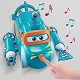 BESTWALED Willy Submarino Muñeca Juguete De Niño Super Alas Juego De Juguetes Luz Y Sonido Robot Creatividad Regalo Juguetes De Niños Serie Super Wing Regalos De Cumpleanos
