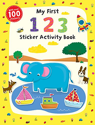 My First 1 2 3 Sticker Activity Book