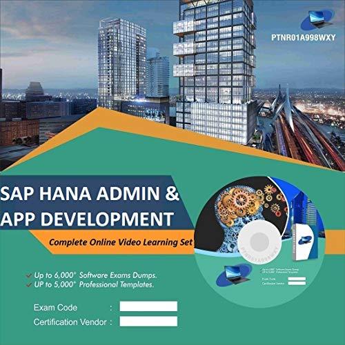 SAP HANA ADMIN & APP DEVELOPMENT Complete Video Learning Solution Set (DVD)