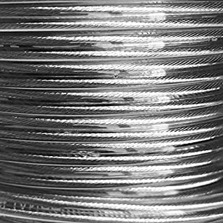L/ámpara L/ínea 5/m anillo 5/x 0,75/mm/² color plateado transparente