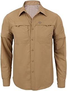 Fashion Men's Quick-Drying Casual Military Pure Color Long Sleeve T-Shirt Tops