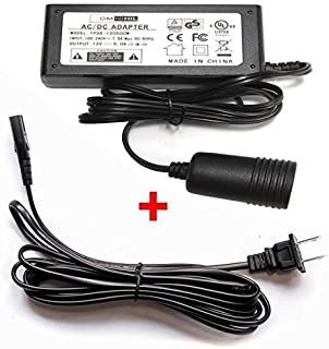 Omnihil 14 Feet 12V Adapter Power Converter for Coleman 40 Quart Power Chill Thermoelectric Cooler