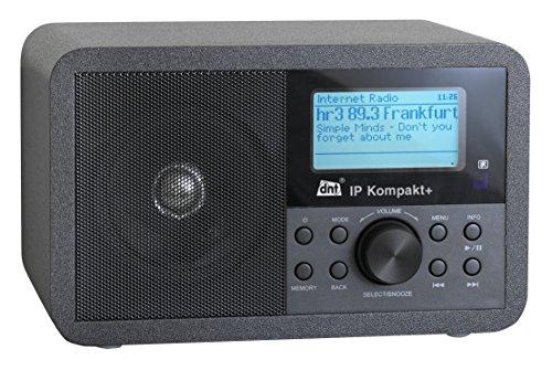 IP Kompakt+ Internet-/DAB-/FM-Radio, Schwarz