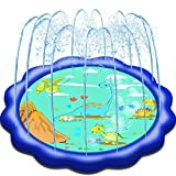 Neteast Outdoor Sprinkler Toys for 1 2 3 4 5 6 7 Year Old Kids and Toddlers, Outside Dinosaur Themed...