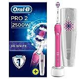 Oral-B Pro 2500 Crossaction Brosse à Dents Electrique Rechargeable Pack Bonus...