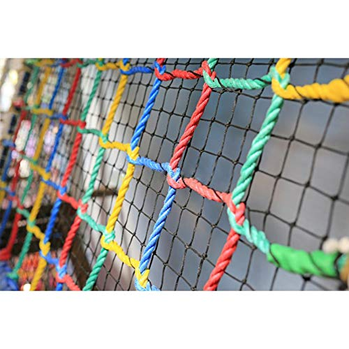 Color Net Sports Netting Safety Protection Backstop Practice Net Edged Net...