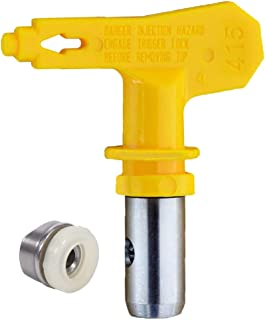Jewboer Reversible Spray Tip Nozzle for Airless Paint Spray Guns and Airless Sprayer Spraying Machine (415)