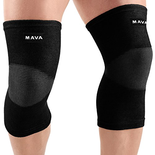 Mava Sports Sleeve Support for Knee for Pain and Discomfort