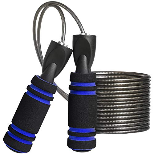 MOCOCITO Springseil Fitness | Speed Rope für Herren & Damen | Springseil für Kinder | 2.8Metres Length Adjustable
