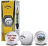 Callaway Warbird Custom Logo Golf Balls 3-Pack Golf Balls -