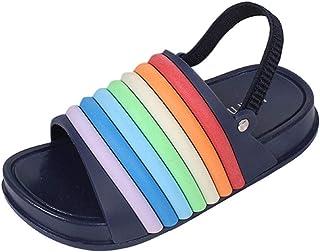 WEXCV Kinderschoenen, slippers, slippers, slippers, sandalen, indoorschoenen, uniseks, baby jongens meisjes, kruipschoenen...
