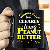 N\A Funciona Pero claramente ama la Taza de Mantequilla de maní