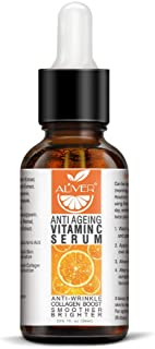 Suero de vitamina C ácido hialurónico Cara Vitamina antiarrugas y suero antiarrugas suero de retinol manchas solares hi...
