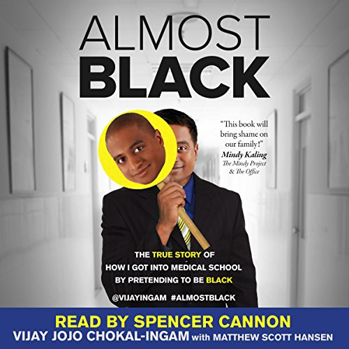 Almost Black audiobook cover art