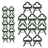 60 piezas de clips para plantas de jardín (2 tamaños...
