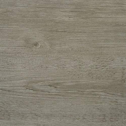 d-c-floor - Selbstklebende Bodenfliesen - Fliesenaufkleber für den Boden, Grey Wood