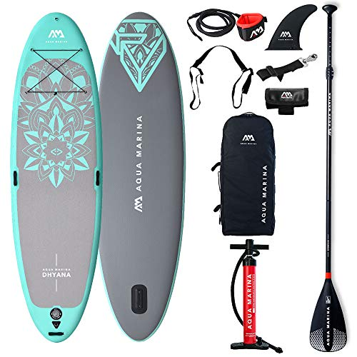 Stand Up Paddle Gonfiabile Aquamarina Dhyana + pagaia